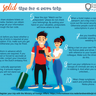 Ten 'Solid' tips for a save trip